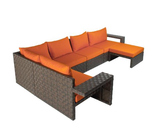 Link Combination by Kenneth Cobonpue | Garden sofas