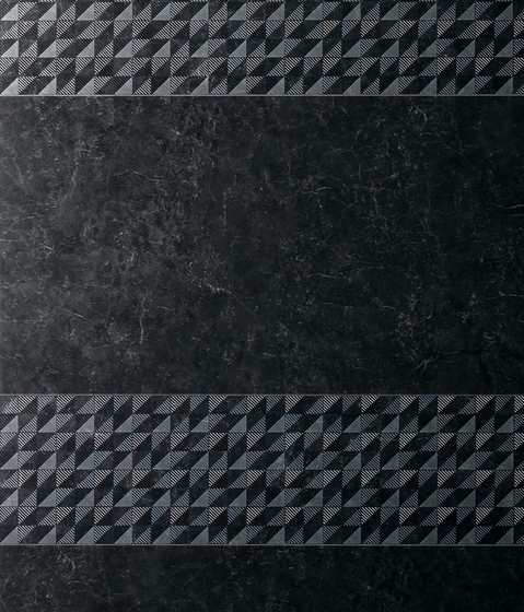 Admiration Midnight Black Squares de Atlas Concorde | Mosaicos