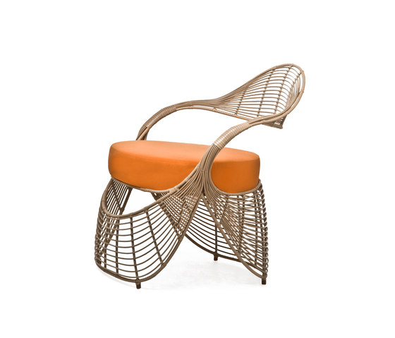 Manolo Club Chair* de Kenneth Cobonpue | Sillones de jardín