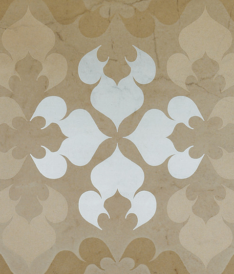 Admiration Crema Marfil Flowers by Atlas Concorde | Ceramic tiles