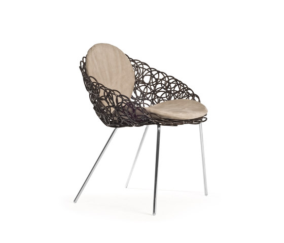 Noodle Armchair by Kenneth Cobonpue | Restaurant chairs