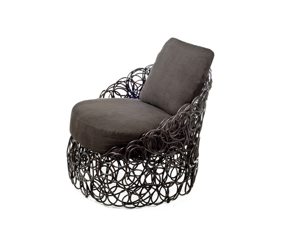 Noodle Easy Armchair* by Kenneth Cobonpue | Garden armchairs