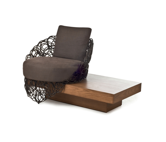 Noodle Easy Armchair with Platform* by Kenneth Cobonpue | Lounge chairs