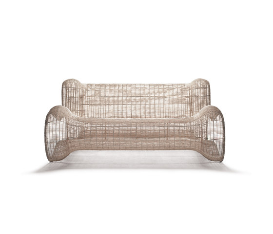 Pigalle Loveseat by Kenneth Cobonpue | Garden sofas