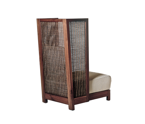 Suzy Wong Easy Armchair High Back by Kenneth Cobonpue | Lounge chairs