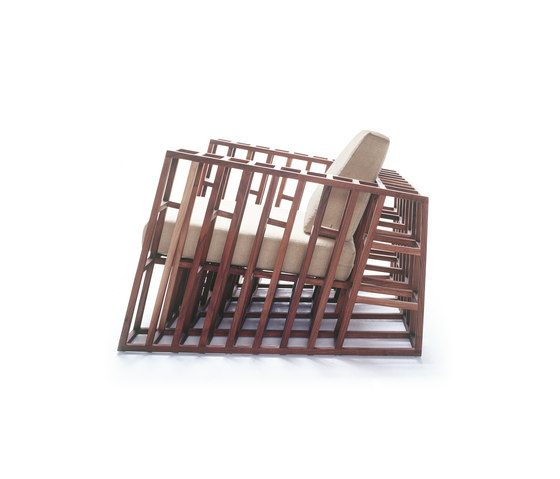 Tilt Easy Armchair von Kenneth Cobonpue   Loungesessel