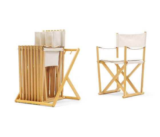 Folding Chair by Carl Hansen & Søn | Garden chairs