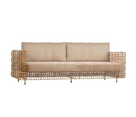 Yin & Yang Sofa von Kenneth Cobonpue | Gartensofas