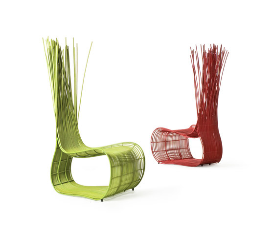 Yoda Easy Chair by Kenneth Cobonpue | Garden armchairs