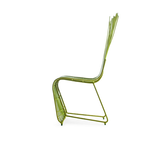Yoda Side Chair by Kenneth Cobonpue | Restaurant chairs