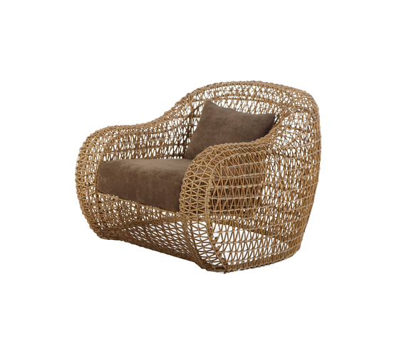 Balou Easy Armchair by Kenneth Cobonpue | Garden armchairs