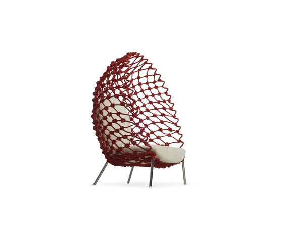 Dragnet Lounge Armchair by Kenneth Cobonpue | Garden armchairs