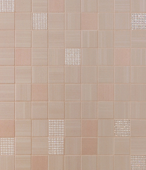 Radiance Rose Mosaic Dek by Atlas Concorde | Ceramic mosaics