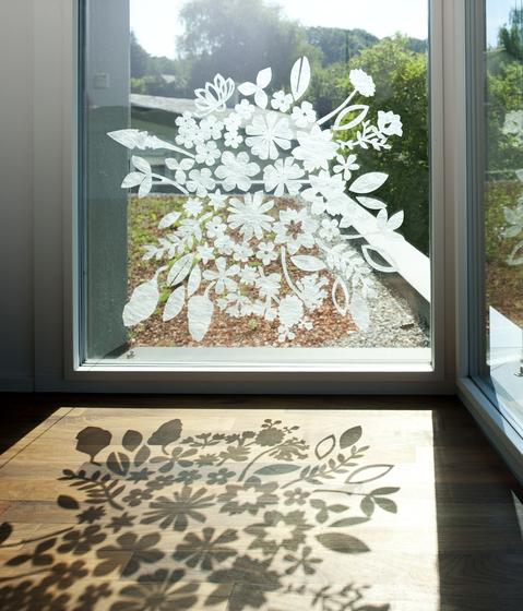 Gecko in the box Botanica by Création Baumann | Curtain fabrics
