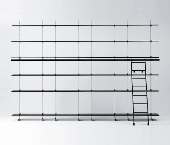 Elegie by Misura Emme | Shelving systems