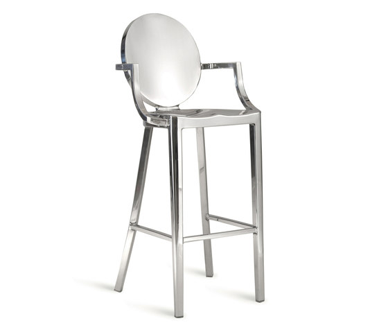 Kong Barstool with arms von emeco | Barhocker