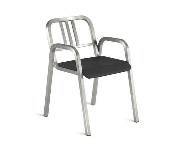 Nine-0™ Stacking armchair by emeco | Restaurant chairs