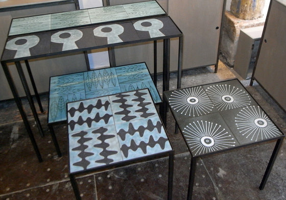 Furniture Fifties by Ulrike Weiss | Natural stone tiles