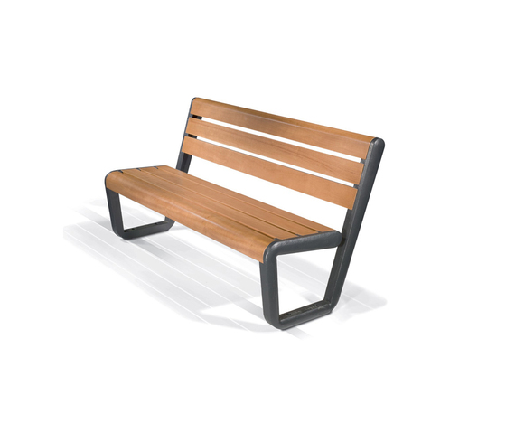 Eco Bench Wood by LAB23 | Exterior benches