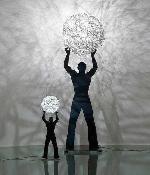 Uomo della Luce Outdoor di Catellani & Smith | Lampade da giardino
