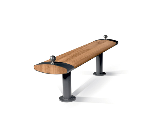 Roll by LAB23 | Exterior benches