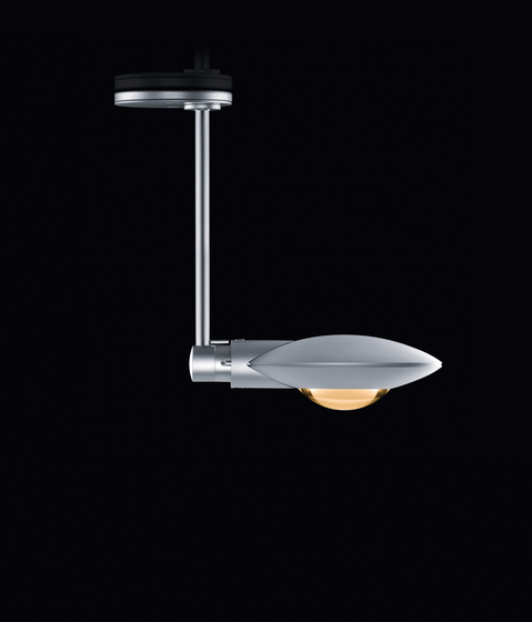 Puro faro singolo by Occhio | Ceiling-mounted spotlights