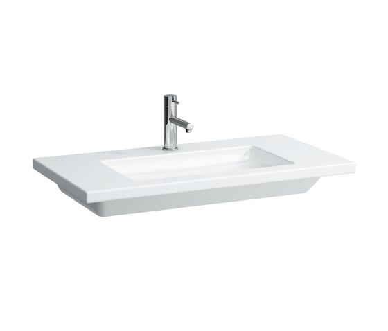 living square | Countertop washbasin by Laufen | Wash basins