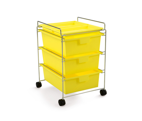 GO trolley di Authentics | Cassettiere