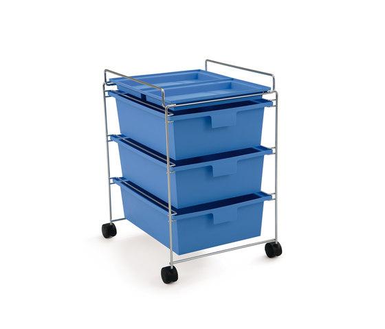 GO trolley de Authentics | Caissons mobiles pour bureaux