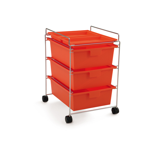 GO trolley by Authentics | Pedestals