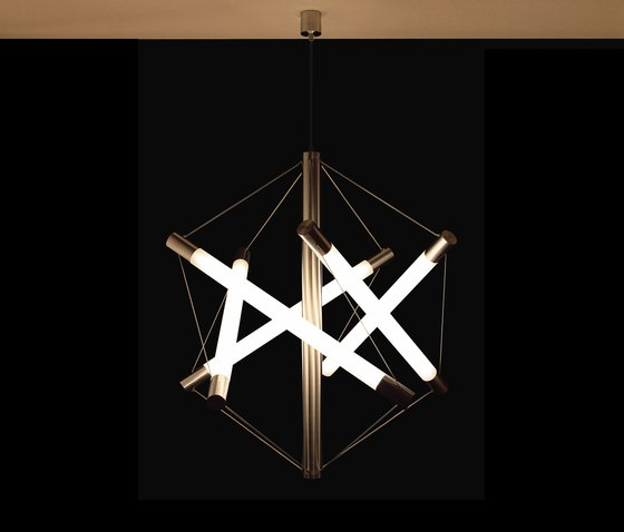 Light Structure T5 pendant by Archxx | Suspended lights