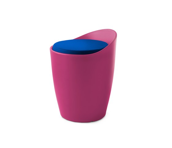 OTTO stool by Authentics | Poufs