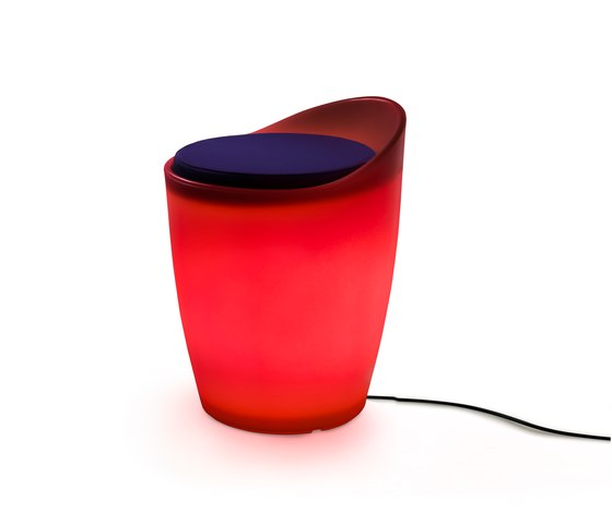 OTTO lighted stool outdoor de Authentics | Tabourets de jardin