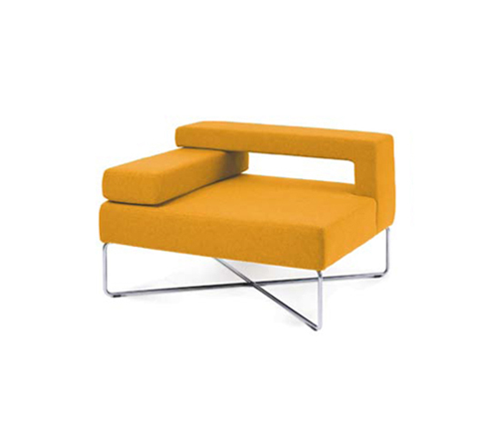Side Lounge by VANGE | Modular seating elements