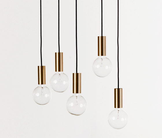 NEB Brasslamp by No Early Birds | Ceiling lights