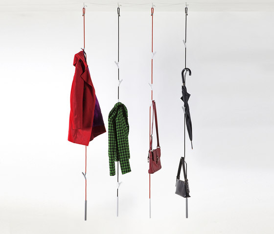 WARDROPE wardrobe by Authentics | Ceiling mounted coat racks