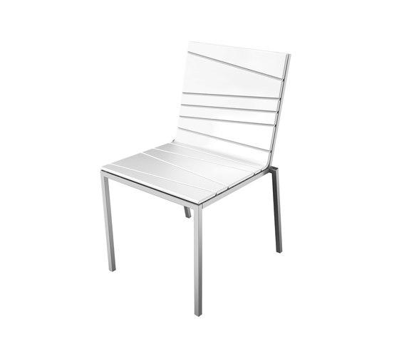 Bandoline Collection Dining | Chair de Viteo | Sièges de jardin