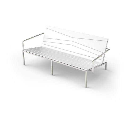Bandoline Double Lounge Chair by Viteo | Garden sofas