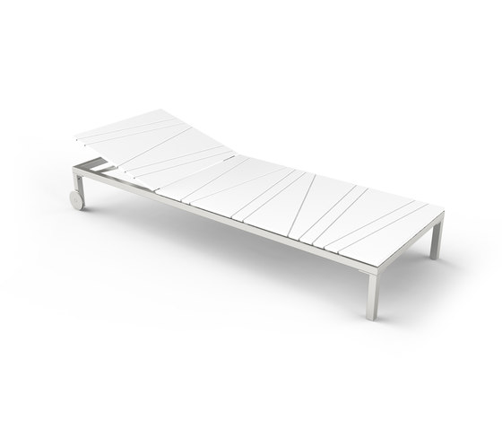 Bandoline Sunlounger by Viteo | Sun loungers