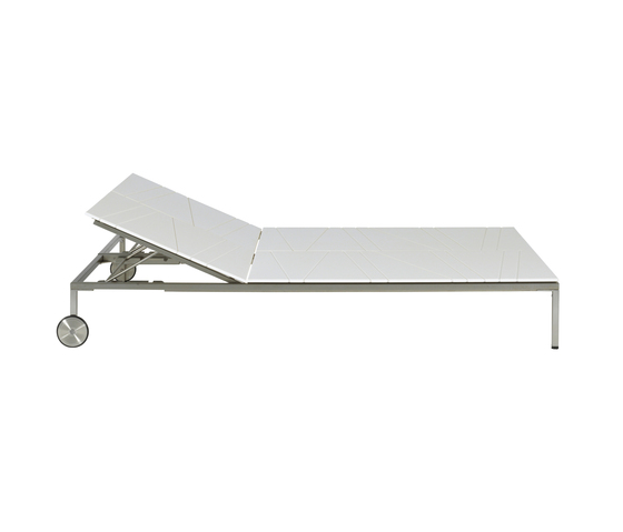Bandoline Double Sunlounger by Viteo | Sun loungers