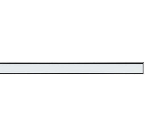 TECEdrainline shower channels glass weiss de TECE | Sumideros para duchas
