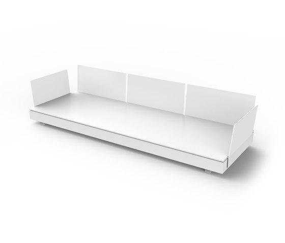 Pure Module 270 A by Viteo | Garden sofas