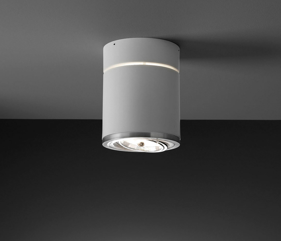 Raxis 17 Surface White by Marset | Ceiling-mounted spotlights