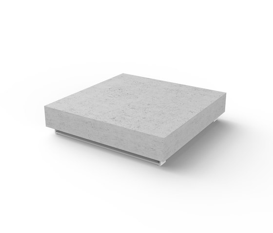 Pure Concrete Table de Viteo | Tables basses de jardin