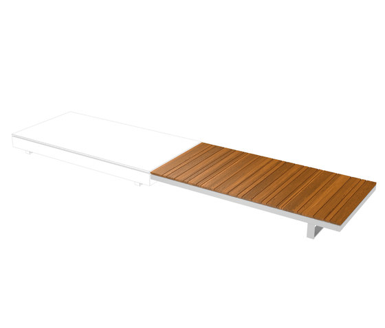 Pure Collection | Wooden Module 180 by Viteo | Coffee tables