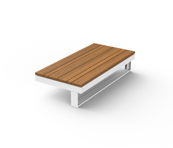 Pure Wooden Table 45 de Viteo | Mesas de centro de jardín