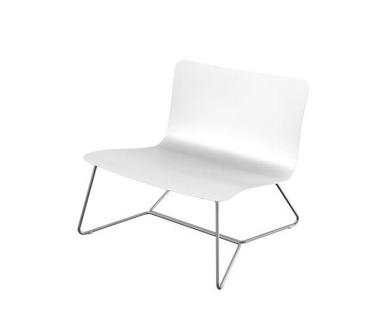Slim Collection Lounge | Lounge Chair by Viteo | Garden armchairs