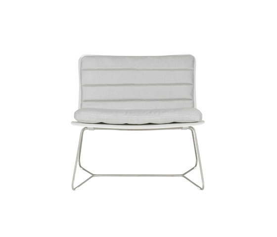 Slim Lounge Chair by Viteo | Garden armchairs