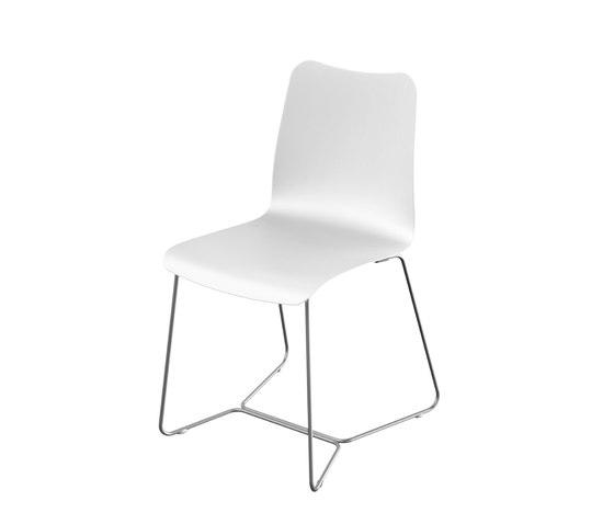 Slim Collection Dining | Chair de Viteo | Sièges de jardin