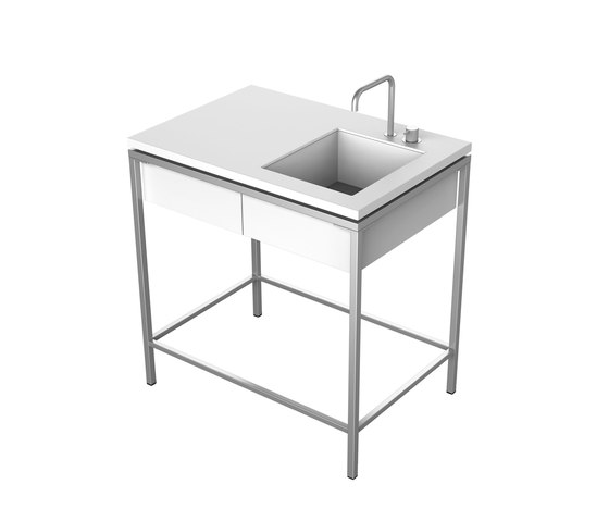 Outdoor Kitchen | Sink, 1 drawer by Viteo | Outdoor kitchens